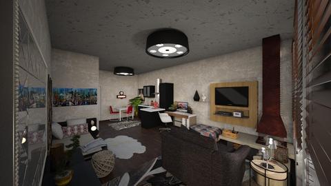 Template room 2 - Living room - by mmt_regina_nox