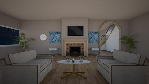 Cozy living room - Living room - by aesthathic_noor