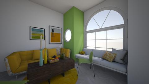 pineapple room - Living room  - by aylastoner