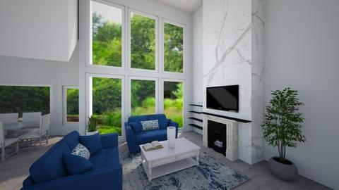 Rubin - Living room  - by realtealdesigns