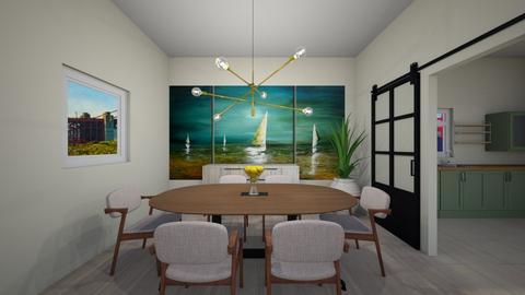Melanie Home - Living room  - by Sandra Harrington