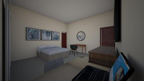 room bed 3 - Bedroom  - by bohemaledesing