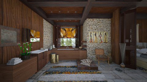 naturell 02  - Eclectic - Bathroom  - by Ida Dzanovic