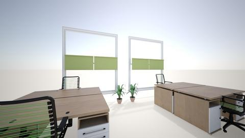 kamer P en O groen - Office  - by Catherine Nobels