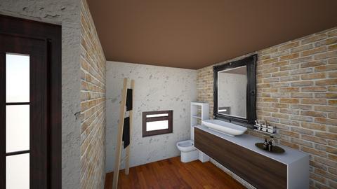lazienka2 - Bathroom - by wrONciu
