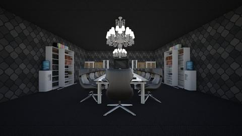 Conference Room  - Masculine - Office - by Ravina_9069