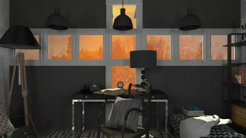 Industrial living - Office  - by hetregent