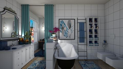 bath - Bathroom  - by Joao M Palla