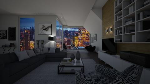 home office 2 - Modern - Office - by nuray kalkan