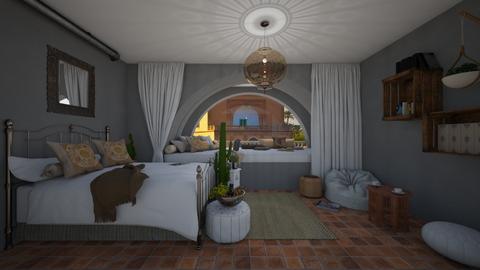 new marrakesh - Bedroom - by oriane dfn