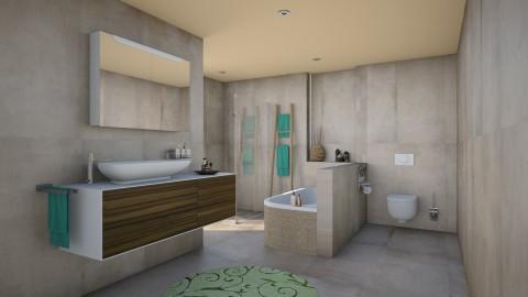 Summer morning - Modern - Bathroom  - by Unicorn_Nora_2003
