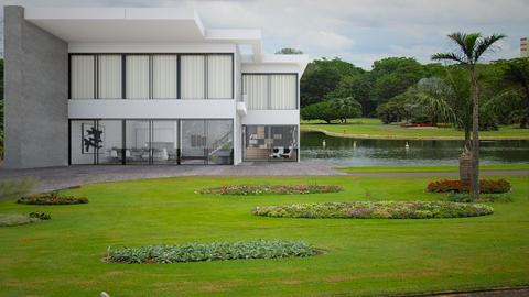 villa de madera - Garden  - by Idaliza