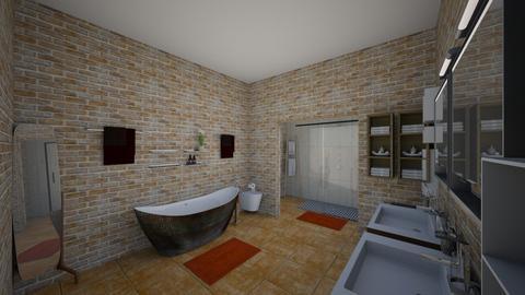 Rustic Bathroom - Rustic - Bathroom  - by elizabethwatt16