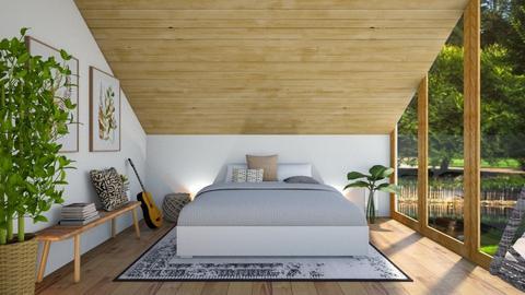 loft room - Bedroom  - by Thepanneledroom
