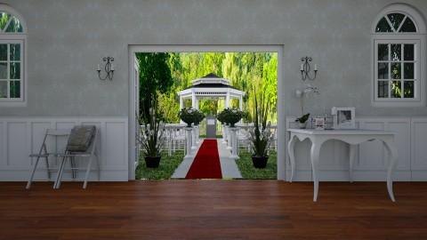 garden terrace - by jujusinha