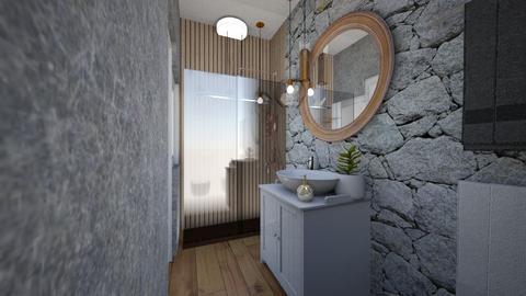 Cologno M bathroom 1f - Bathroom - by natanibelung