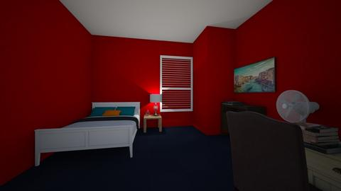 Five Towns college dorm - Bedroom - by AleNachman