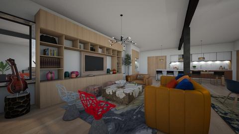 Loft - Living room  - by flacazarataca_1