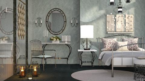 M_ Iron - Bedroom - by milyca8