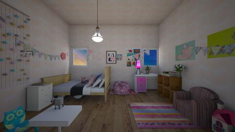 rosies room - Feminine - Kids room  - by MomoBeag