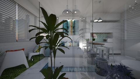 STUDIO35M - Living room  - by PRINZESSINBLUME
