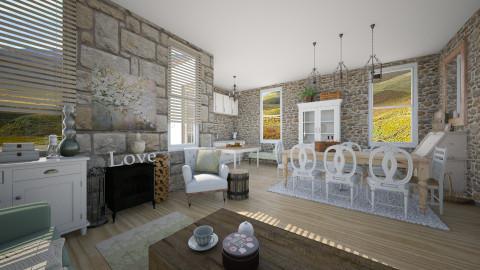 alaska  - Rustic - Living room  - by Georgina Holly