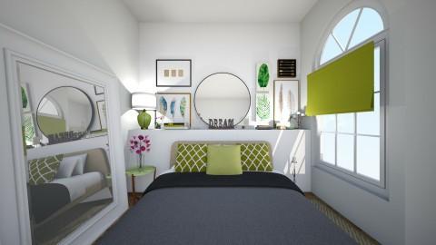 Leaf Bedroom - Bedroom  - by Syrine Ben Maktouf