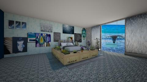ocean room  - Modern - Bedroom  - by noadesign