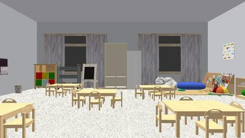 Maqueta de aula - by Maricielo18
