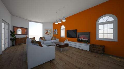 retro - Living room - by jovhke