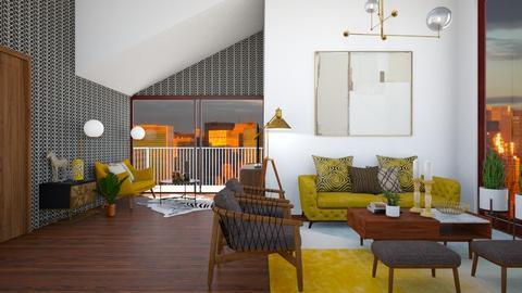 Mid century living - Modern - Living room  - by martinabb