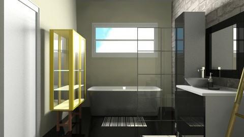 Bath - Modern - Bathroom  - by martinabb