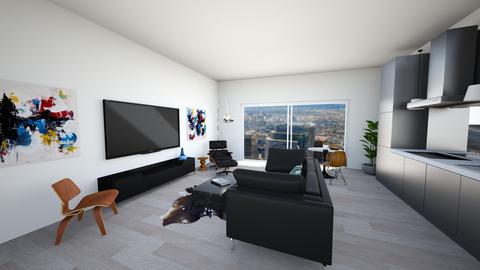 DWR Sharif - Living room - by mikaelawilkins