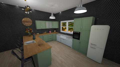 Kitchen farm house - Kitchen  - by Marion_