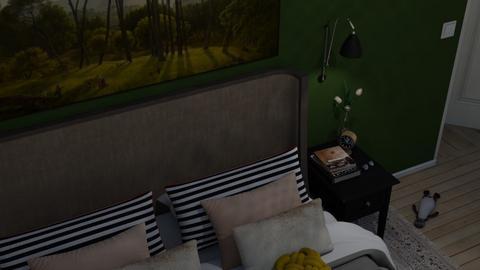 Nighty Night - Minimal - Bedroom  - by HenkRetro1960
