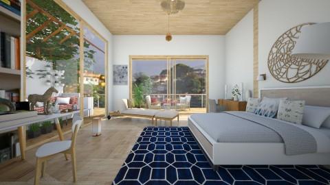 rio de janiero bedroom - Bedroom - by sarasepideh