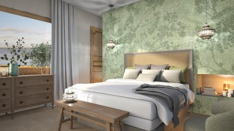 Organic bed - by Designer1007