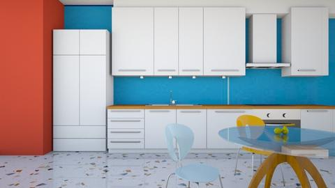 Colorful Kitchen - Kitchen  - by Taehyungie