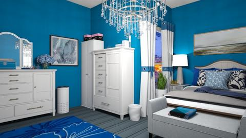 Blue Moon - Modern - Bedroom  - by Irishrose58
