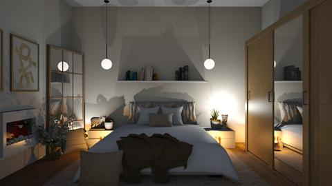 BEIGE  - Bedroom  - by zarky