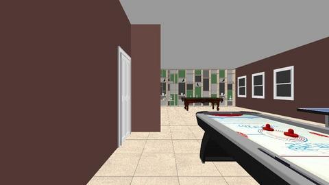 Game room - Rustic - by mercyenid
