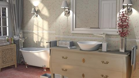 580 - Retro - Bathroom  - by Claudia Correia