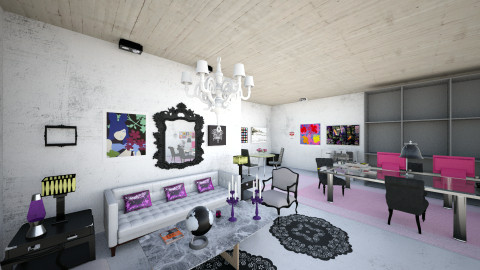 studio apartment - Eclectic - by nilo41