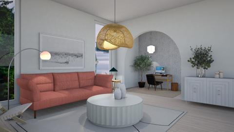 Natural Abode - Minimal - Living room  - by milk07Designs