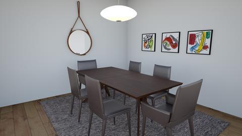 Stephane Heather Hacpille - Modern - Dining room  - by ggetlik