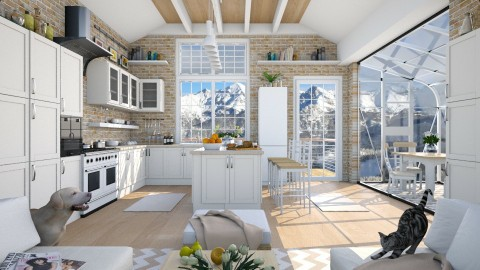 Design 242 Nifty Kitchen - Kitchen  - by Daisy320