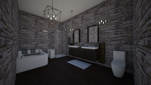 alia and mikes bathroom - Modern - Bathroom  - by DelilahRose04