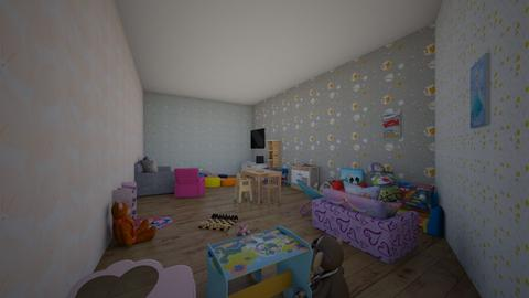 play room - Kids room  - by BLittzy