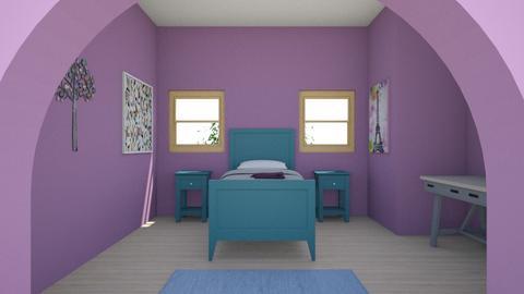Purple Room - Kids room  - by Cuddle_Puppy