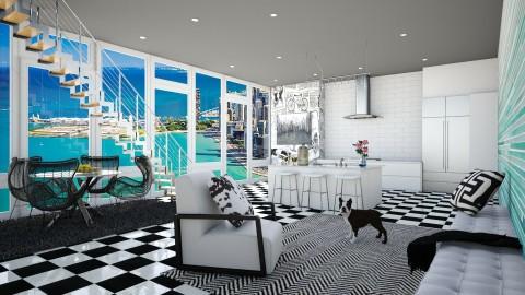 Chicago days - Modern - Living room  - by bgref